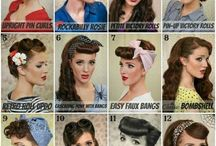 Pin up/rockabilly hair styles