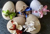 Húsvéti horgolt tojások