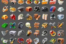 Icons, items