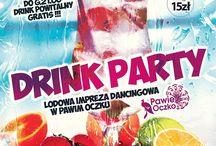 Lodowa impreza dancingowa - DRINK PARTY