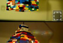 Barne rom / Lego lampe