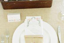 Tables- All the liltle details