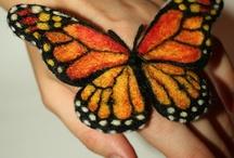 Keçeden kelebekler