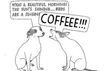 COFFEEE!!! / Instant human. Just add coffee.