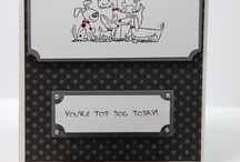 Stampin up Not so Seriously cards