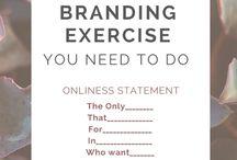 Pure & Simple: Brand Board