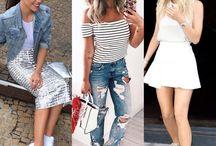 COMO USAR / Várias ideias e inspirações de como usar peças de roupas, sapatos e acessórios.