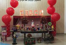 Festinhas da Carol / Festejar, celebrar!!!