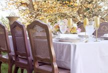Vintage Wedding Portugal Outdoor Reception