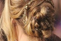 Hair {Cabelos e penteados} / Lindos penteados para se inspirar...