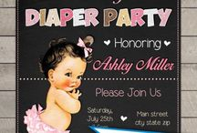 diaper party/baby shower