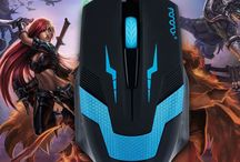Wired Gaming Mouse Adjustable Pro USB Computers laptop 1600 DPI Optical 3Buttons