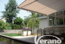 Buitenzonwering / De collectie buitenzonwering van Verano® laat u genieten van een fantastisch buitenseizoen!