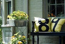 Outside the House / A collection of beautiful ideas to spruce up the outside of your home!