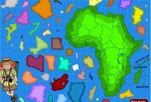 Aardrijkskunde Afrika