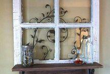 ventana con adorno