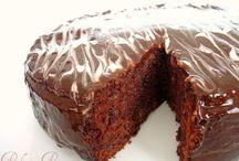 Çikolatalı vişneli kek