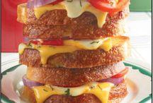 Sandwiches, Wraps, Paninis