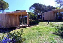 Bungalove / Arquitectura ecológica, sostenible, pensada para camping y hoteles rurales