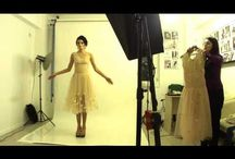 Making of shootings / making of Fashion Books Photography