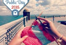 Katia Knit in Public Day 2015 / Concurso Instagram Katia Knit in Public Day #KatiaKiPD2015 Comparte tu mejor foto tejiendo en público, menciona @KatiaYarns + hashtag #KatiaKiPD | Join our Instagram #contest! Upload your best pic #knitting / crocheting in public, mention @KatiaYarns + #KatiaKiPD2015