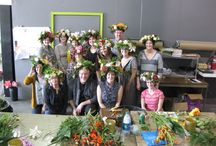 Lincoln NE- Cutts Flower Crown Class / J held a Flower Crown Class at Cutts in Lincoln NE Sunday November 8, 2014... Check out the photos to see how much FUN with FLOWERS everyone had! / by J Schwanke