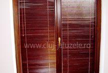 Jaluzele orizontale din lemn / Jaluzelele din lemn sunt perfecte pentru a aduce caldura in casa ta.