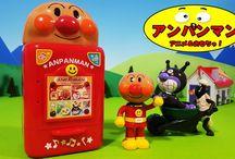 アンパンマン アニメ❤おもちゃ おしゃべり冷蔵庫Anpanman toys