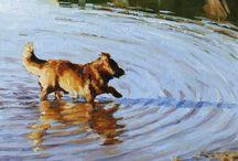 Animal & landscape paintings