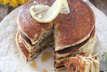 Paleo citroen poppyseed pancakes