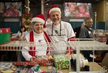 Collection & Processing Centers / Check out photos of servants of all ages that have helped out in our collection and processing centers.These selfless people have given of their time to help us prepare each shoebox gift for overseas shipment. You can find more info on volunteering in a processing center here: http://www.samaritanspurse.org/operation-christmas-child/volunteer-with-occ/ / by Operation Christmas Child
