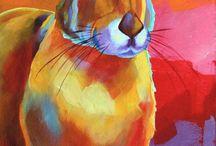 the ceramic hare