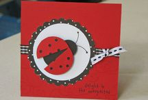 Lady beetle cards