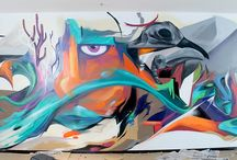 "Street Art / A fine display of ""Street Art"" from all around the world - my favourites..."