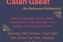 Calan Gaeaf. The halloween Hullaballoo 2017