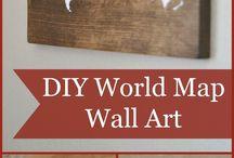 Wall art tutorial
