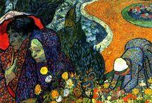 Vicent Van Gogh / by Gloria Garza