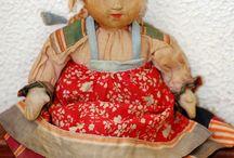 Советская тканевая куколка 30х годов прошлого века