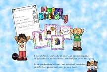 samen vieren we feest met katrotje / verjaardagen, speciale feesten,...