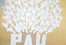 DÍA DE LA PAZ / Actividades para el día de la paz. / by eva macho