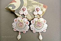Bridal Soutache Jewelry-Soutache Novia