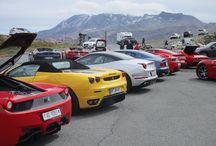 Ferrari Mania 2016 / Impressionen der Alpine Palace Ferrari Mania Ausfahrt auf die Großglockner Hochalpenstraße