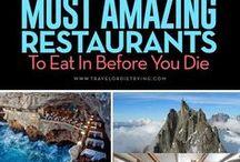 Cafés & Restaurants weltweit / Hier findest Du die schönsten Cafés & Restaurants weltweit.
