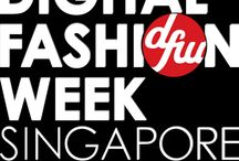 Digital Fashion Week SIngapore 2013 / november 2013