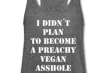 vegan tops for women / Find the perfect vegan statement shirt for you and spread the word.