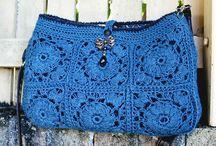 uncinetto/maglia - borse e accessori
