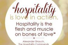 Hospitality / by Barbara Ferrell