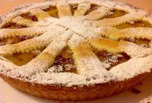 CROSTATA di CAKI / Pasta folla friabilissima al marsala con ripieno di caki freschi