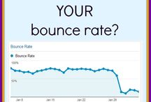 Bounce Rate / How to decrease your bounce rate and retain potential clients!  Bounce rate information brought to you by KeliE.com, SEO analyst since 1997!