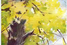 Sonbahar ağaçları